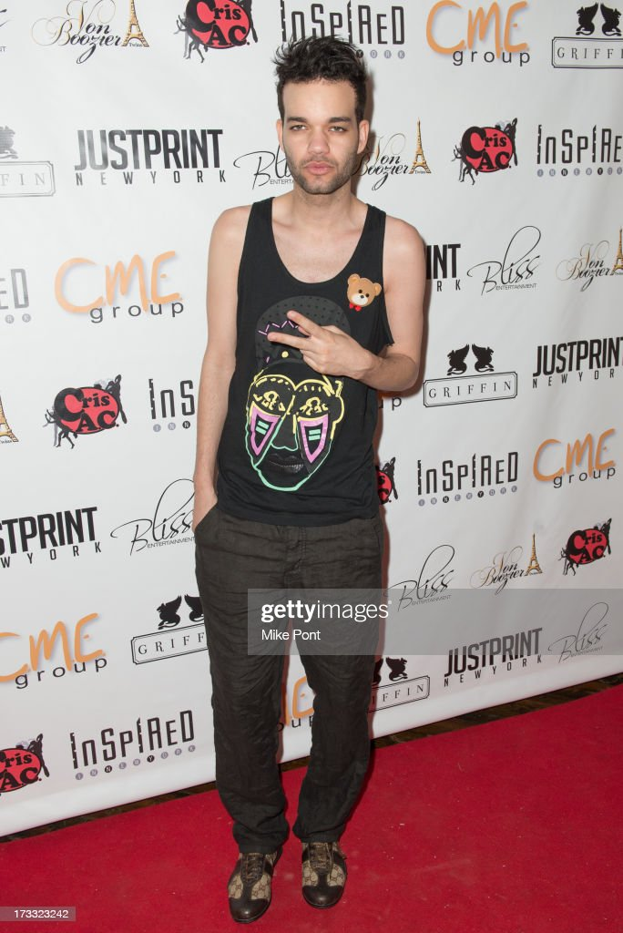 Jason Christopher Peters attends the 'Inspired In New York' event on July 11, 2013 in New York, United States.