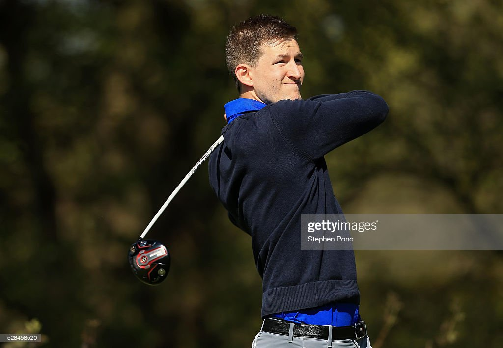 Jason Churchley of Cambridgeshire Golf Club during the PGA Assistants Championship East Qualifier at Ipswich Golf Club on May 5, 2016 in Ipswich, England.