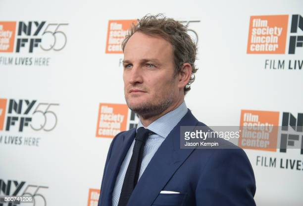Jason Clarke attends the 55th New York Film Festival screening of 'Mudbound' at Alice Tully Hall in New York on October 12 2017