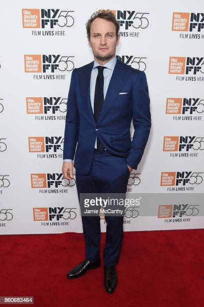 Jason Clarke attends the 'Mudbound' premiere during the 55th New York Film Festival at Alice Tully Hall on October 12 2017 in New York City