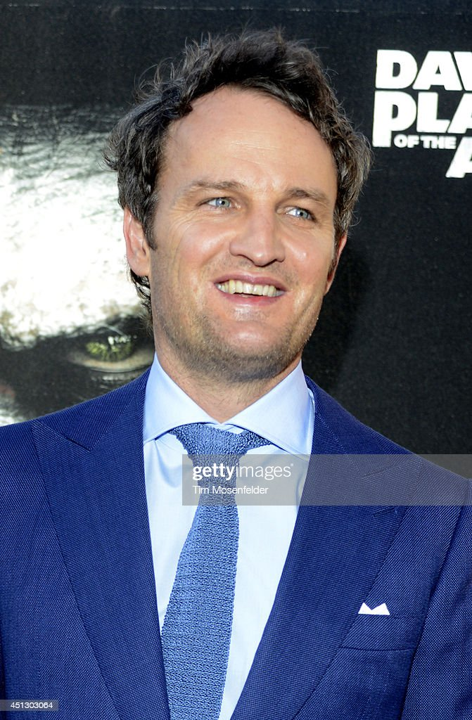 Jason Clarke poses at the premiere of 20th Century Fox's 'Dawn of the Planet of the Apes' at the Palace Of Fine Arts Theater on June 26 2014 in San...