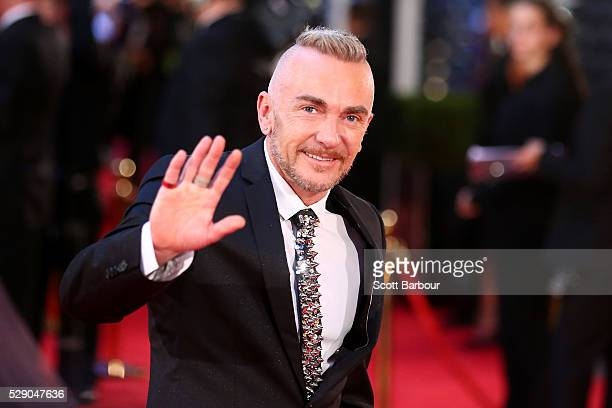 Jason Coleman arrives at the 58th Annual Logie Awards at Crown Palladium on May 8 2016 in Melbourne Australia