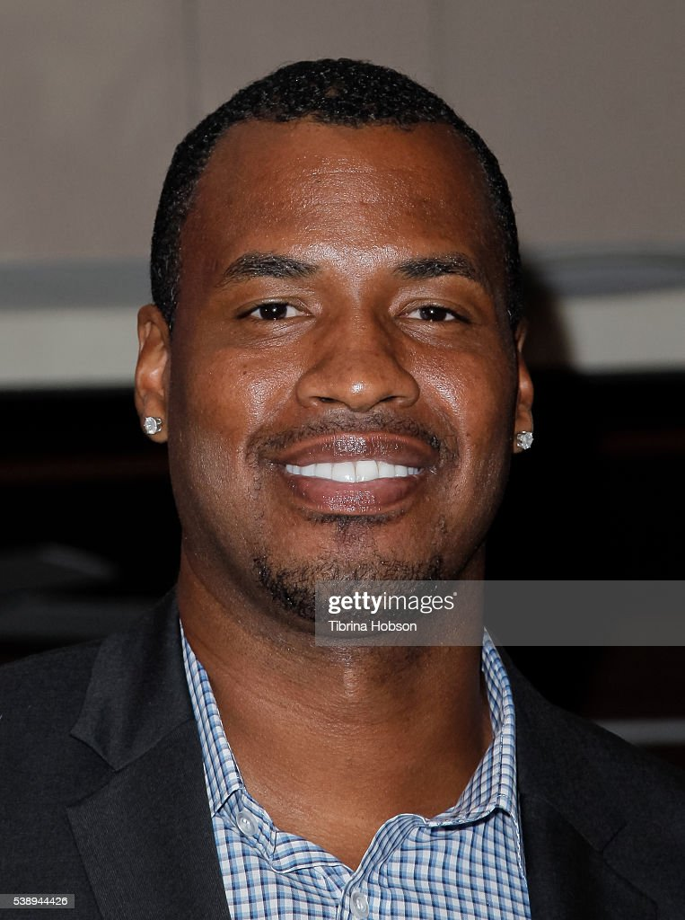 Jason Collins attends GLSEN Pride Celebration in Los Angeles at Sunset Tower Hotel on June 8 2016 in West Hollywood California
