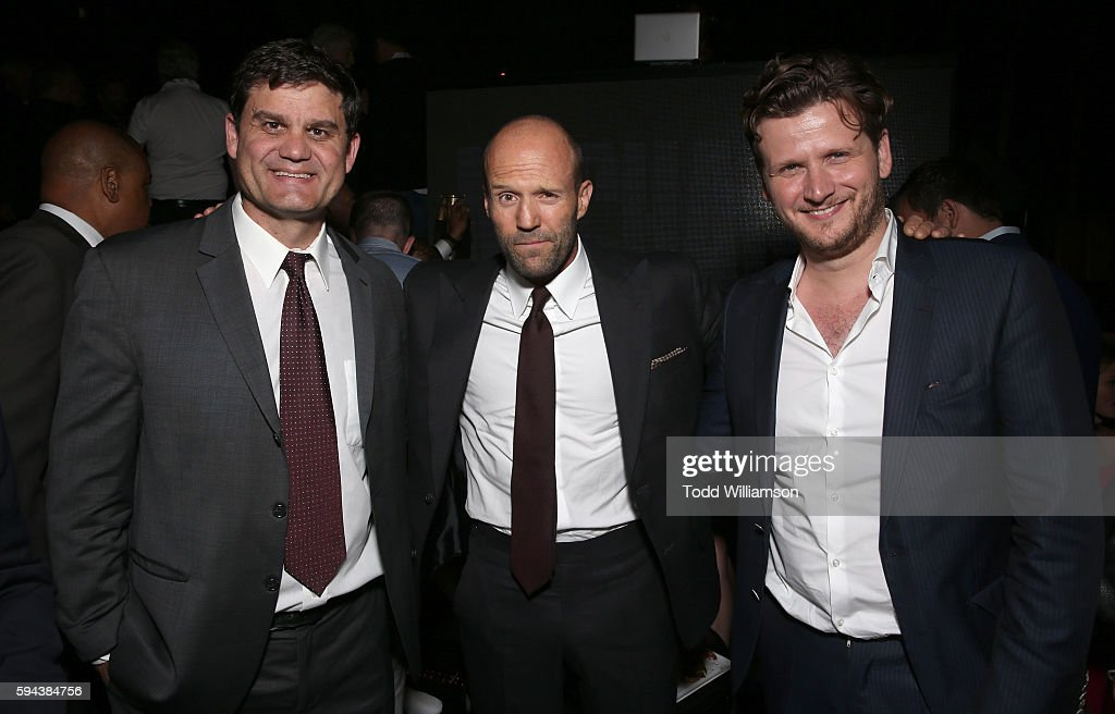 Jason Constantine President of Acquisitions and CoProductions Lionsgate Motion Picture Group Jason Statham and Director Dennis Gansel attend the...