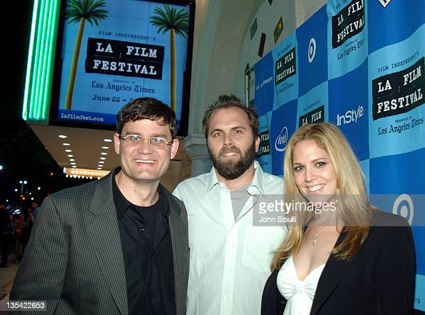 Jason Constantine Senior Vice President of Acquisitions at Lions Gate Chris Gorak writer/director and Mary McCormack