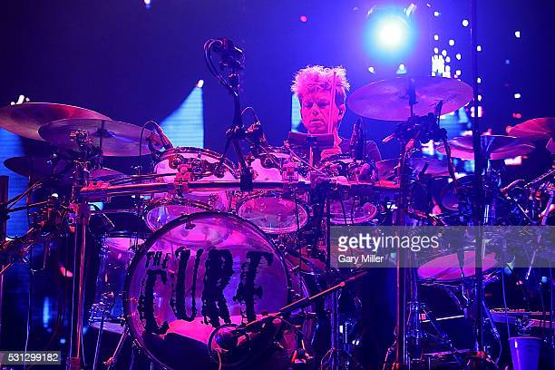Jason Cooper of The Cure performs in concert at The Frank Erwin Center on May 13 2016 in Austin Texas