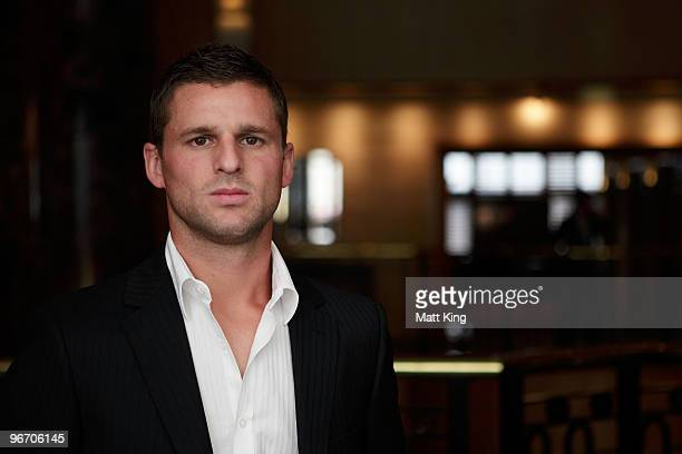 Jason Culina of Gold Coast United poses during the 2010 ALeague Finals Series Launch at the Sheraton on the Park Hotel on February 15 2010 in Sydney...