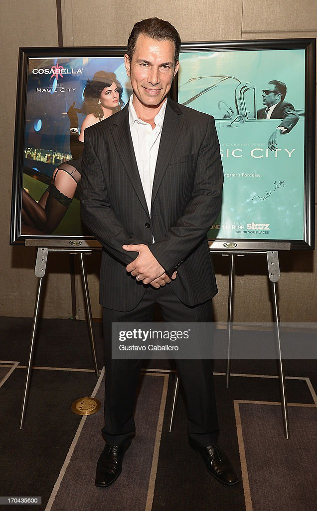 <a gi-track='captionPersonalityLinkClicked' href=/galleries/search?phrase=Jason+Davis+-+Actor&family=editorial&specificpeople=5384392 ng-click='$event.stopPropagation()'>Jason Davis</a> attends the 'Magic City' preview screening at W South Beach on June 12, 2013 in Miami Beach, Florida.