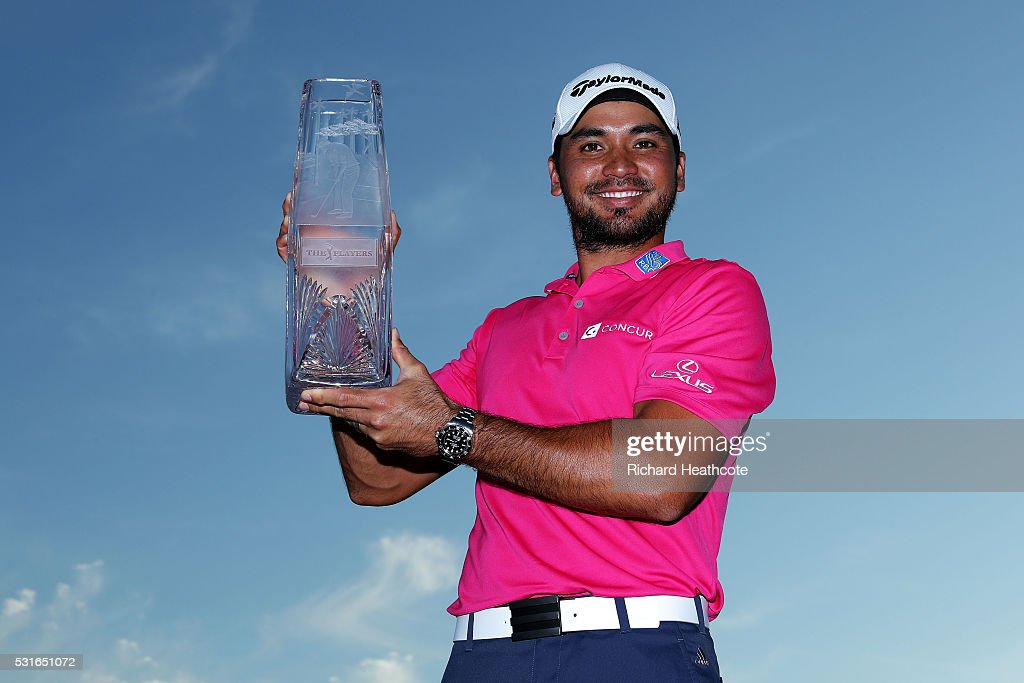 <a gi-track='captionPersonalityLinkClicked' href=/galleries/search?phrase=Jason+Day+-+Golfista&family=editorial&specificpeople=4534484 ng-click='$event.stopPropagation()'>Jason Day</a> of Australia celebrates with the trophy after winning during the final round of THE PLAYERS Championship at the Stadium course at TPC Sawgrass on May 15, 2016 in Ponte Vedra Beach, Florida.