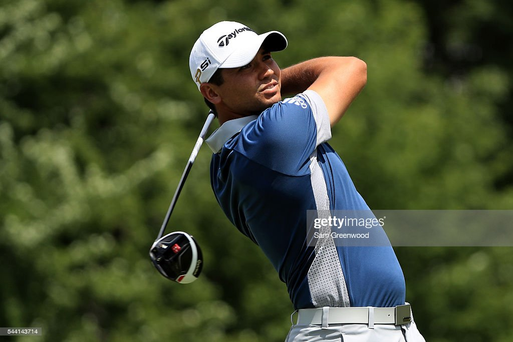 <a gi-track='captionPersonalityLinkClicked' href=/galleries/search?phrase=Jason+Day+-+Golfer&family=editorial&specificpeople=4534484 ng-click='$event.stopPropagation()'>Jason Day</a> of Australia hits off the sixth tee during the second round of the World Golf Championships - Bridgestone Invitational at Firestone Country Club South Course on July 1, 2016 in Akron, Ohio.