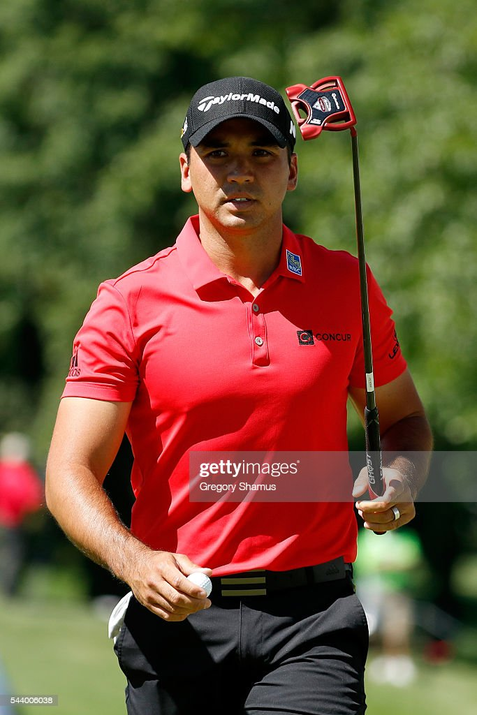 <a gi-track='captionPersonalityLinkClicked' href=/galleries/search?phrase=Jason+Day+-+Golfer&family=editorial&specificpeople=4534484 ng-click='$event.stopPropagation()'>Jason Day</a> of Australia looks on from the 17th green during the first round of the World Golf Championships - Bridgestone Invitational at Firestone Country Club South Course on June 30, 2016 in Akron, Ohio.
