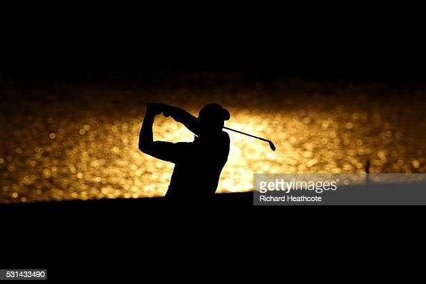 Jason Day of Australia plays a shot on the 18th hole during the third round of THE PLAYERS Championship at the Stadium course at TPC Sawgrass on May...