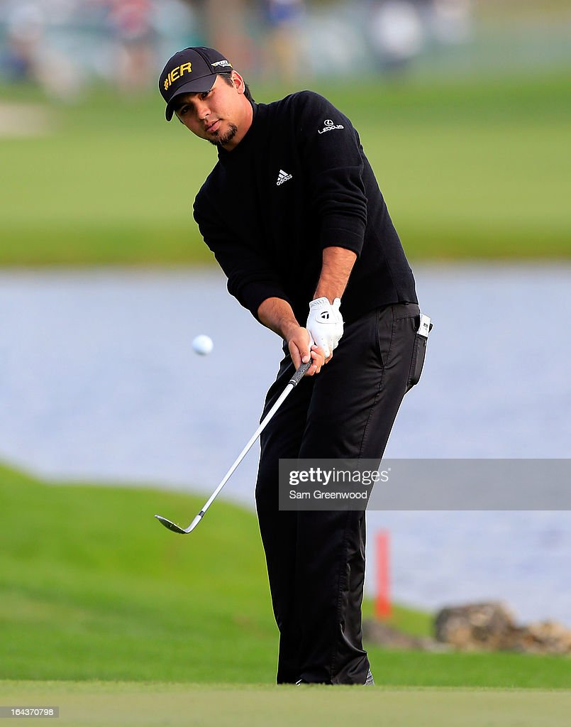 <a gi-track='captionPersonalityLinkClicked' href=/galleries/search?phrase=Jason+Day+-+Golfer&family=editorial&specificpeople=4534484 ng-click='$event.stopPropagation()'>Jason Day</a> of Australia plays a shot on the 6th hole during the second round of the Arnold Palmer Invitational presented by MasterCard at the Bay Hill Club and Lodge on March 22, 2013 in Orlando, Florida.