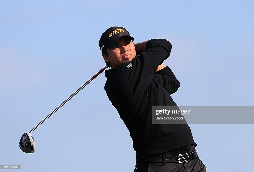 <a gi-track='captionPersonalityLinkClicked' href=/galleries/search?phrase=Jason+Day+-+Jugador+de+golf&family=editorial&specificpeople=4534484 ng-click='$event.stopPropagation()'>Jason Day</a> of Australia plays a shot on the 8th hole during the second round of the Arnold Palmer Invitational presented by MasterCard at the Bay Hill Club and Lodge on March 22, 2013 in Orlando, Florida.