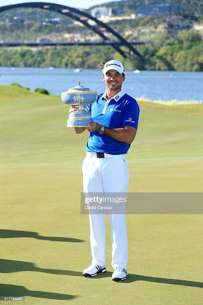 <a gi-track='captionPersonalityLinkClicked' href=/galleries/search?phrase=Jason+Day+-+Golfer&family=editorial&specificpeople=4534484 ng-click='$event.stopPropagation()'>Jason Day</a> of Australia proudly holds the Walter Hagen Cup after his 5&4 victory over Louis Oosthuizen in the championship match of the World Golf Championships-Dell Match Play at the Austin Country Club on March 27, 2016 in Austin, Texas.