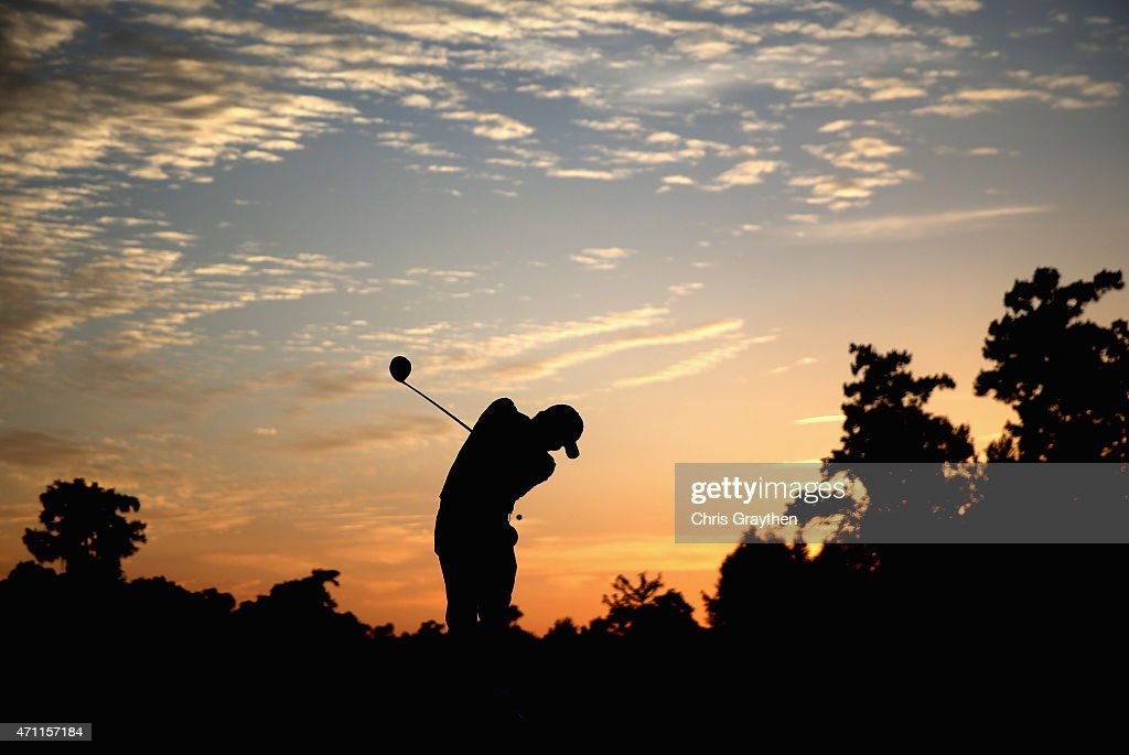 Jason Day of Australia tees off on the fourth hole during round three of the Zurich Classic of New Orleans at TPC Louisiana on April 25 2015 in...