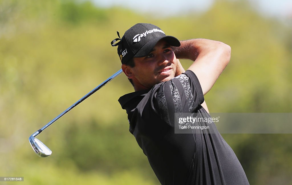 <a gi-track='captionPersonalityLinkClicked' href=/galleries/search?phrase=Jason+Day+-+Golfer&family=editorial&specificpeople=4534484 ng-click='$event.stopPropagation()'>Jason Day</a> of Australia watches his tee shot on the third hole during the second round of the World Golf Championships-Dell Match Play at the Austin Country Club on March 24, 2016 in Austin, Texas.