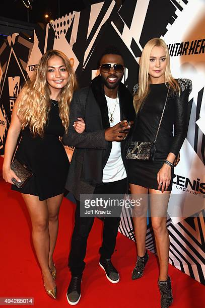 Jason Derulo and guests attend the MTV EMA's 2015 at Mediolanum Forum on October 25 2015 in Milan Italy