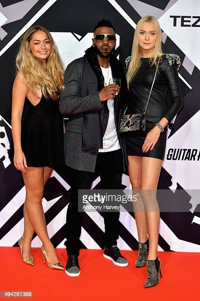 Jason Derulo and guests attend the MTV EMA's 2015 at the Mediolanum Forum on October 25 2015 in Milan Italy