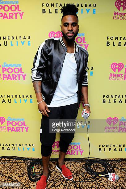 Jason Derulo attends 2016 iHeartRadio Summer Pool Party at Fountainbleau Miami Beach on May 21 2016 in Miami Beach Florida