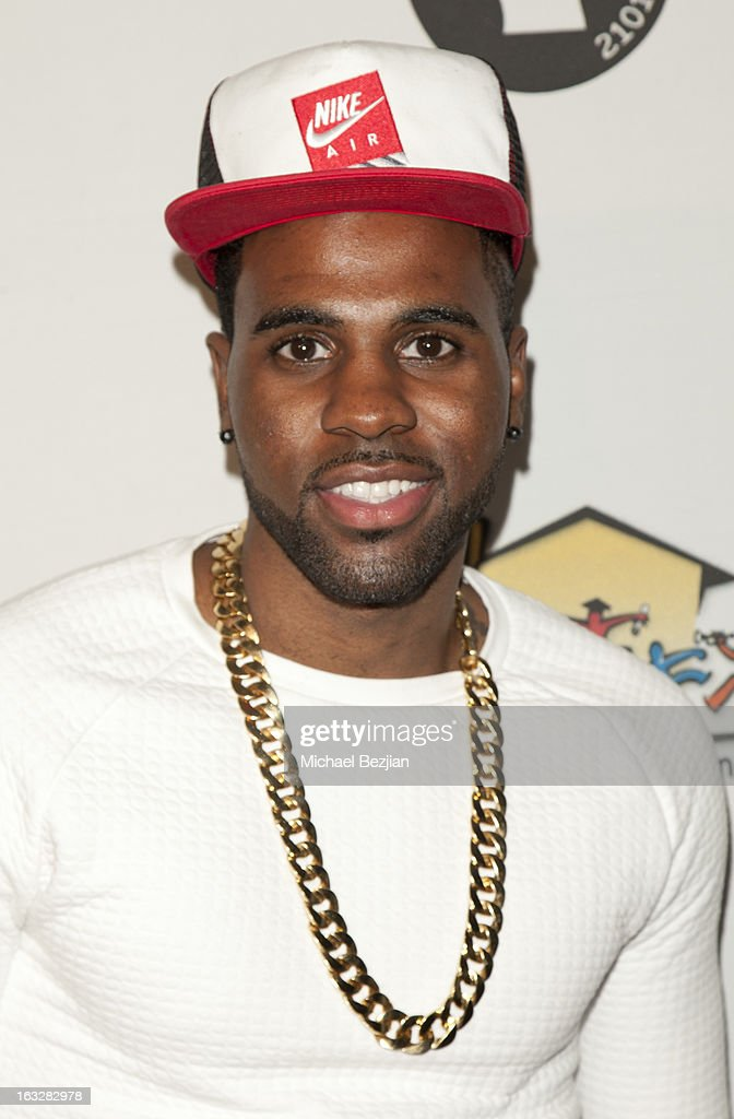 Jason Derulo attends 7th Annual 'Stars & Strikes' Celebrity Bowling And Poker Tournament Benefiting A Place Called Home at PINZ Bowling & Entertainment Center on March 6, 2013 in Studio City, California.