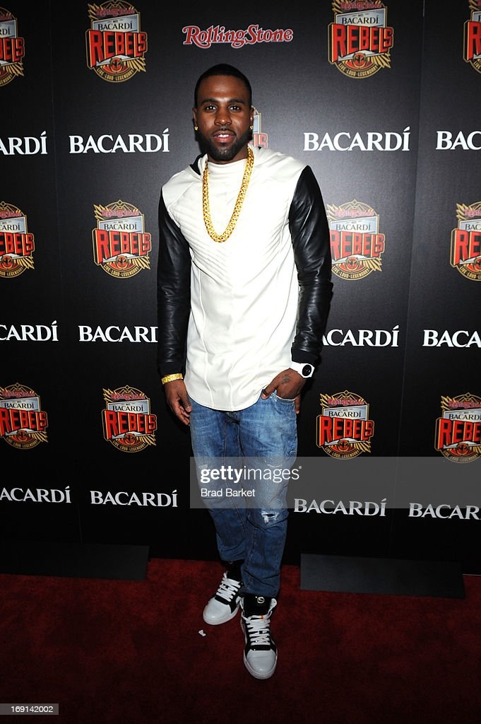 <a gi-track='captionPersonalityLinkClicked' href=/galleries/search?phrase=Jason+Derulo&family=editorial&specificpeople=5745869 ng-click='$event.stopPropagation()'>Jason Derulo</a> attends Rolling Stone hosts Bacardi Rebels at Roseland Ballroom on May 20, 2013 in New York City.