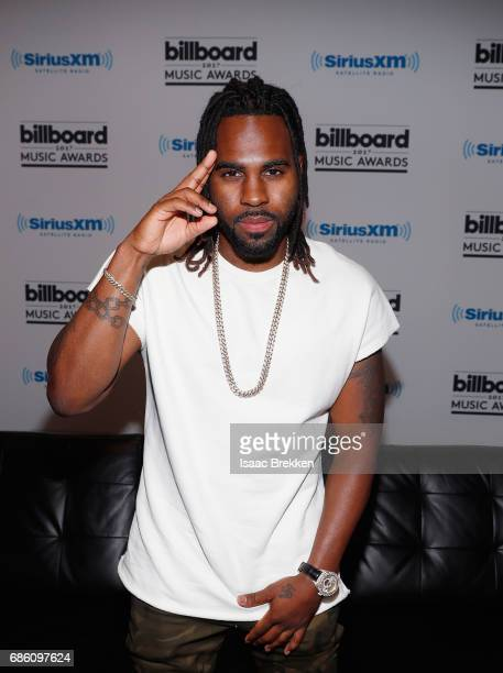 Jason Derulo attends SiriusXM's 'Hits 1 in Hollywood' broadcast on SiriusXM's SiriusXM Hits 1 channel leading up to the Billboard Music Awards at...
