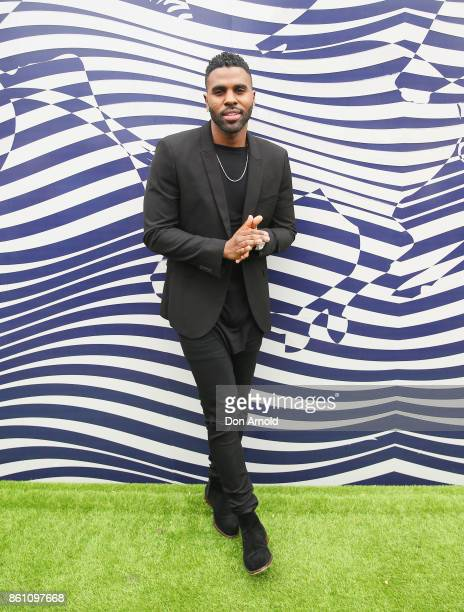Jason Derulo attends TAB Everest Day at Royal Randwick Racecourse on October 14 2017 in Sydney Australia