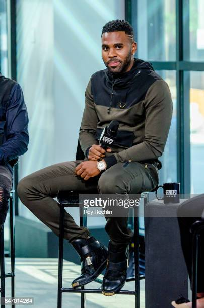 Jason Derulo discusses The Level 13 Fashion Line with the build Series at Build Studio on September 14 2017 in New York City