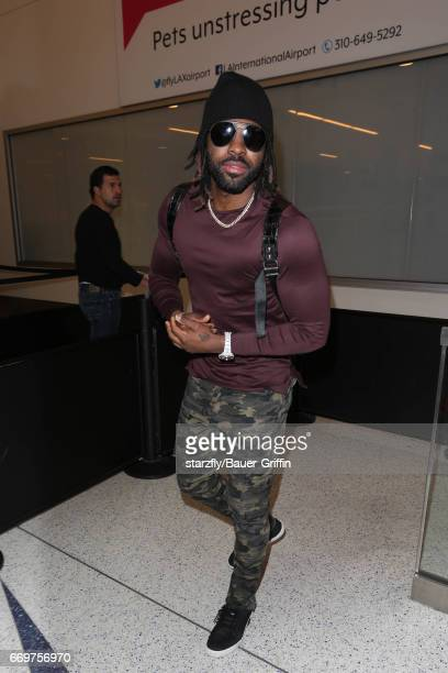 Jason Derulo is seen at LAX on April 17 2017 in Los Angeles California