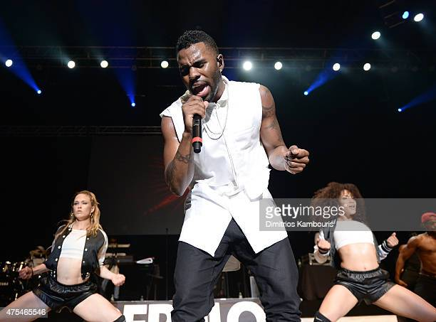 Jason Derulo performs at 1035 KTU's KTUphoria 2015 at Nikon at Jones Beach Theater on May 31 2015 in Wantagh New York
