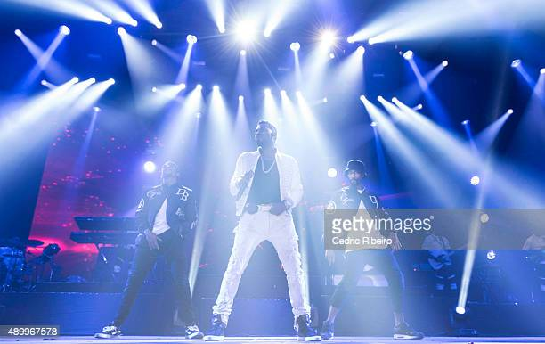 Jason Derulo performs during Dubai Music Week 2015 at Dubai World Trade Centre on September 23 2015 in Dubai United Arab Emirates