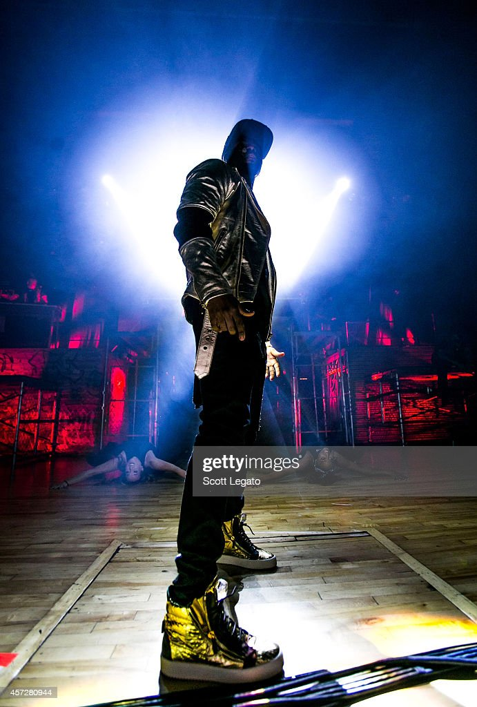 Jason Derulo performs for his Talk Dirty Tour opener at Royal Oak Music Theatre on October 15, 2014 in Royal Oak, Michigan.