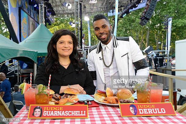 AMERICA Jason Derulo performs in Central Park as part of the 'GMA Summer Concert Series' and the Backyard BBQ Champion is announced on GOOD MORNING...