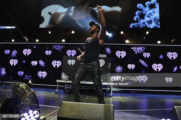 Jason Derulo performs onstage during Hot 995's Jingle Ball 2013 presented by Overstockcom at Verizon Center on December 16 2013 in Washington DC