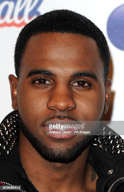 Jason Derulo poses backstage during the Capital FM Jingle Bell Ball at the 02 Arena London