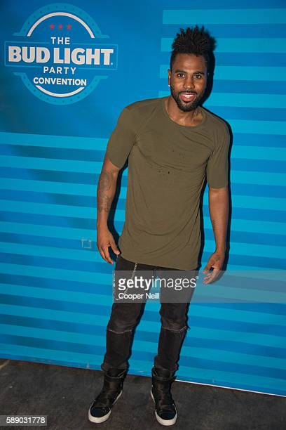 Jason Derulo poses for a photo during the Bud Light Party Convention in Dallas August 11 2016 Bud Light Ð AmericaÕs most popular and inclusive beer...
