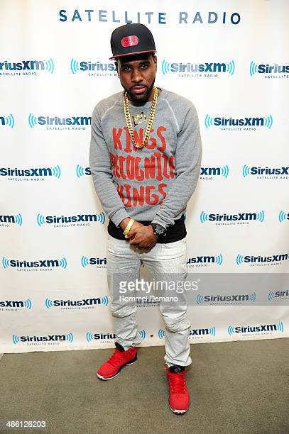 Jason Derulo visits at SiriusXM Studios on January 31 2014 in New York City
