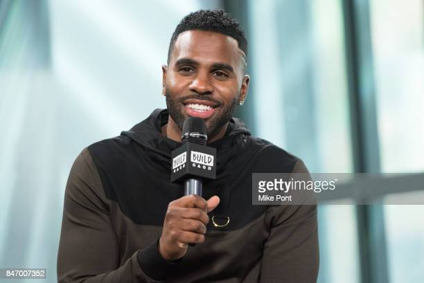 Jason Derulo visits Build Studio to discuss Level 13 Fashion at Build Studio on September 14 2017 in New York City