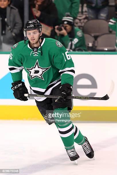 Jason Dickinson of the Dallas Stars skates against the Nashville Predators at American Airlines Center on December 8 2016 in Dallas Texas