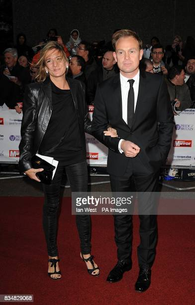 Jason Donovan and Angela Malloch arrive for the Pride of Britain Awards at the London Television Centre Upper Ground SE1