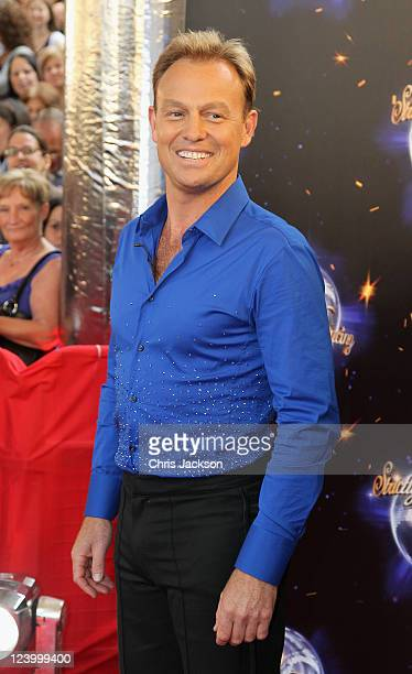 Jason Donovan arrives at the Strictly Come Dancing 2011 press launch at BBC Television Centre on September 7 2011 in London England