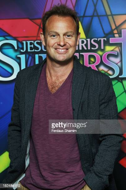 Jason Donovan attends opening night of Jesus Christ Superstar at 02 Arena on September 21 2012 in London England