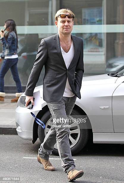 Jason Donovan is seen leaving the BBC Radio 2 Studios on March 15 2011 in London United Kingdom