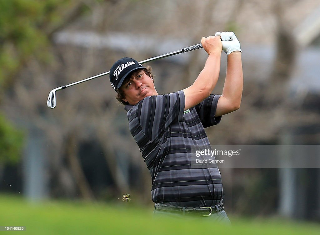 <a gi-track='captionPersonalityLinkClicked' href=/galleries/search?phrase=Jason+Dufner&family=editorial&specificpeople=561651 ng-click='$event.stopPropagation()'>Jason Dufner</a> of the United States during the pro-am for the 2013 Arnold Palmer Invitational Presented by Mastercard at Bay Hill Golf and Country Club on March 20, 2013 in Orlando, Florida.