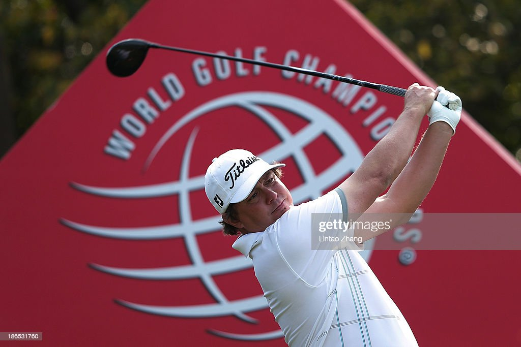 Jason Dufner of the United States in action during the second round of the WGC - HSBC Champions at the Sheshan International Golf Club on November 1, 2013 in Shanghai, China.