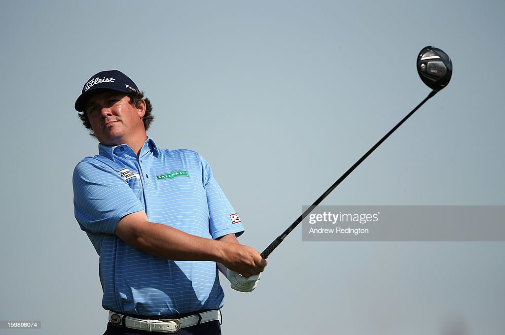Jason Dufner of the USA in action during the Pro Am prior to the start of the Commercial Bank Qatar Masters held at Doha Golf Club on January 22, 2013 in Doha, Qatar.
