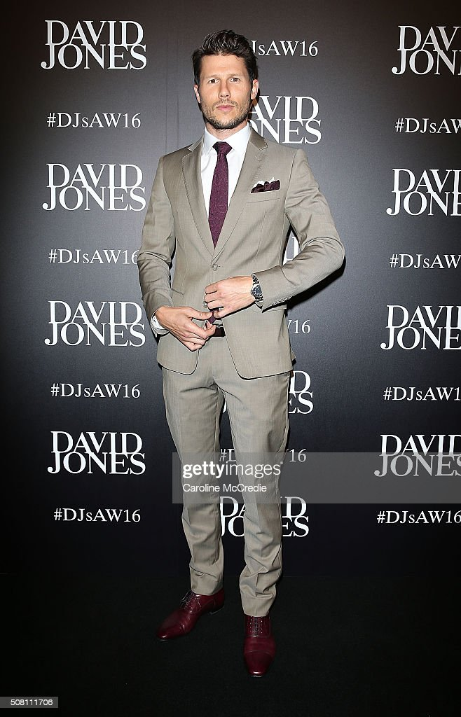 David Jones Autumn/Winter 2016 Fashion Launch - Arrivals