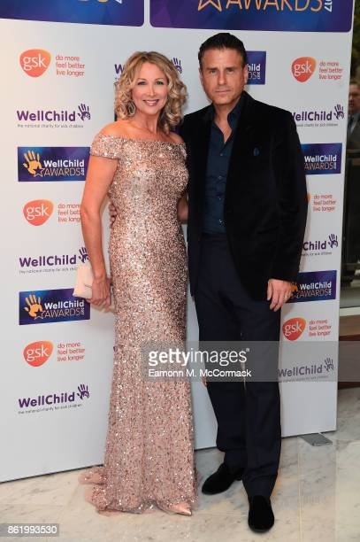 Jason Durr and Kate Charman attend the annual WellChild awards at Royal Lancaster Hotel on October 16 2017 in London England