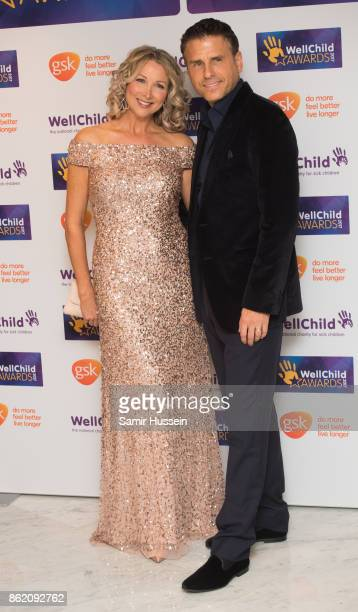 Jason Durr and Kate Charman attend the WellChild Awards at Royal Lancaster Hotel on October 16 2017 in London England